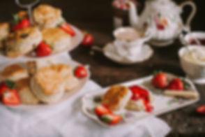 Cream Tea - Darmouth, Scones, Jam, Clotted Cream, Tea, Banquet Boat