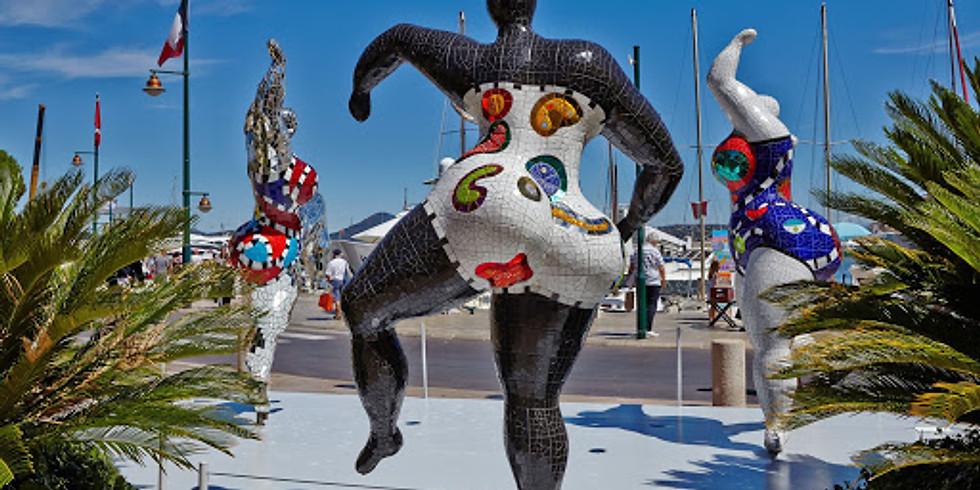 Visite confinée Niki de Saint Phalle