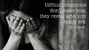 Are Difficult & Troubling Situations Holding Your Back?