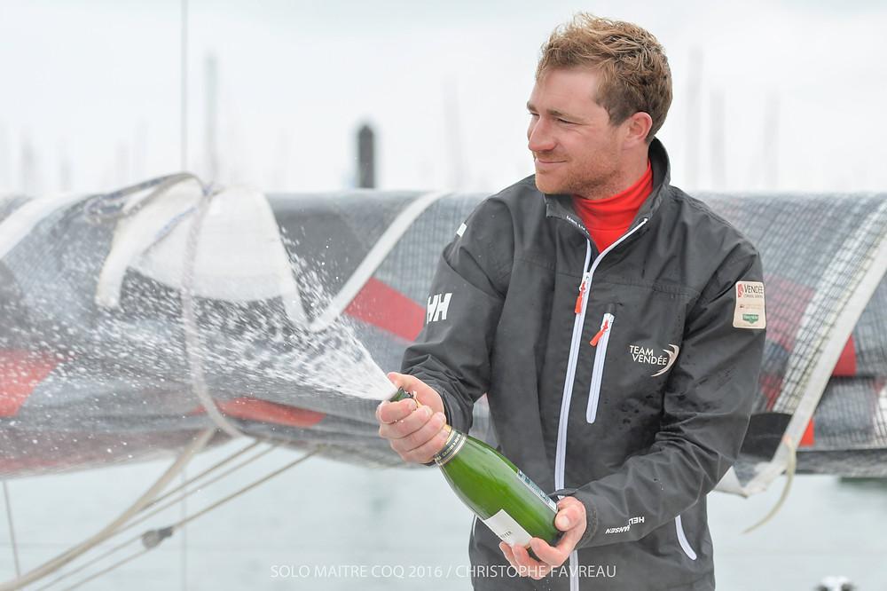 Benjamin Dutreux (Team Vendée) gagne la grande course au Large
