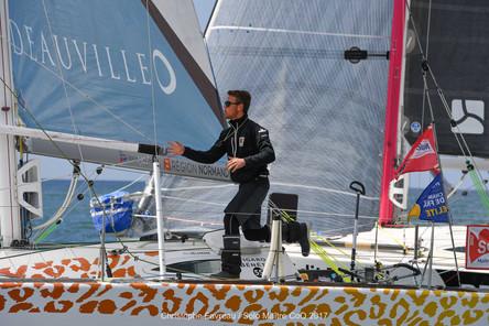 Eric Delamare rentre au port