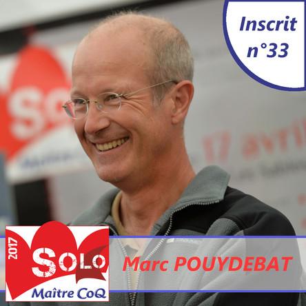 2ème participation pour Marc Pouydebat