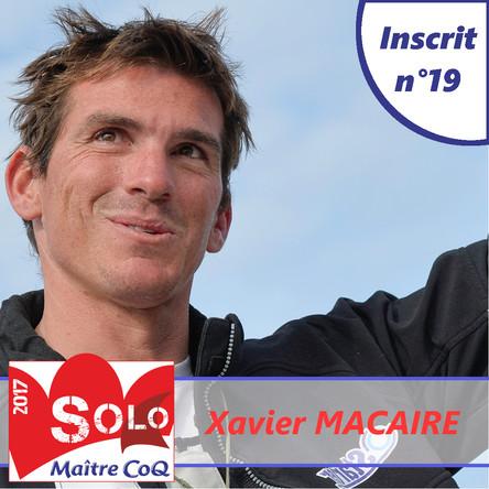 Xavier Macaire (Groupe SNEF) 19ème inscrit !