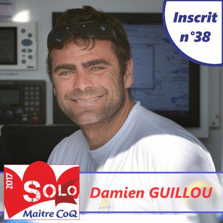 Damien Guillou, 38ème inscrit !