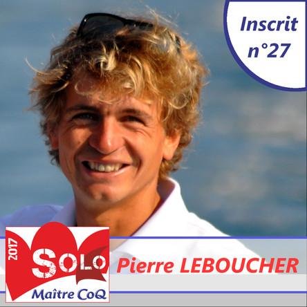 Pierre Leboucher, un bizuth olympique !