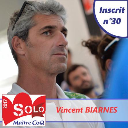 Vincent Biarnès (Guyot Environnement) 30ème engagé !