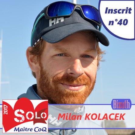 Milan Kolacek premier concurrent Tchèque de la Solo Maître CoQ !