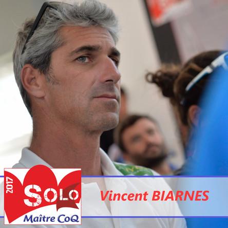 Vincent Biarnes ne prendra pas le départ.