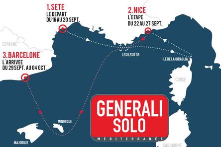 Generali Solo : Un final méditerranéen pour le Championnat de France Elite de Course au Large en Sol