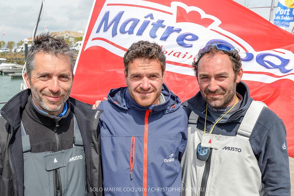Podium 2016 : Corentin Douguet - Anthony Marchand - Damien Cloarec