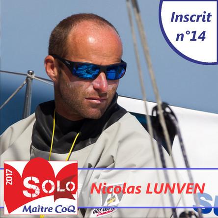 Nicolas Lunven, recordman des participations et des victoires, 14ème inscrit !
