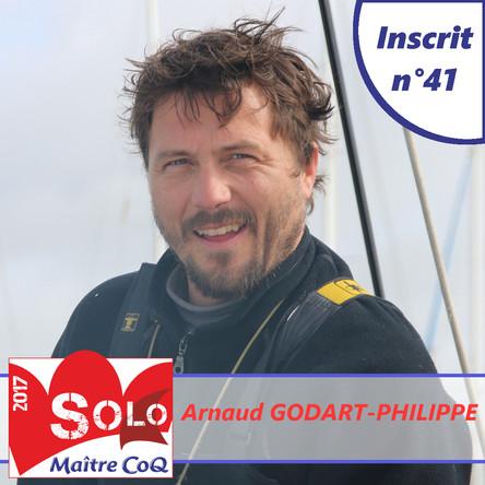 Arnaud Godart-Philippe 41ème inscrit !