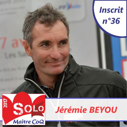 Jérémie Beyou de retour aux Sables !