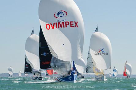 Ovimpex - Secours Populaire vainqueur de la 3ème manche.