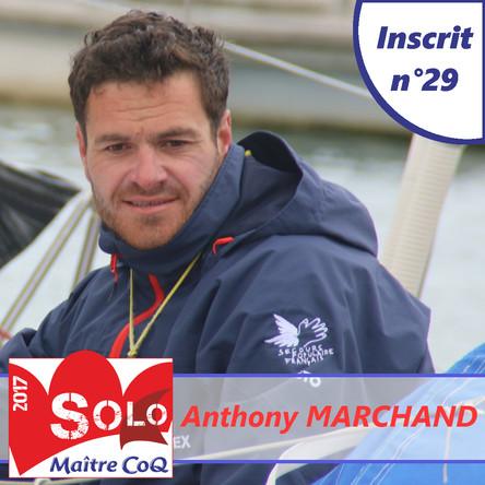 Anthony Marchand remet son titre en jeu !