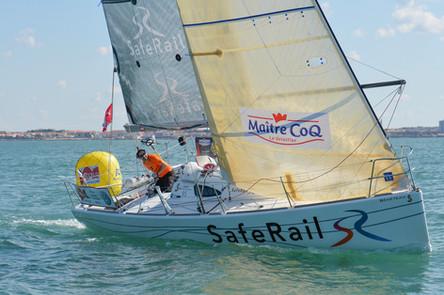 Damien Cloarec (SafeRail) vainqueur de la 4ème manche