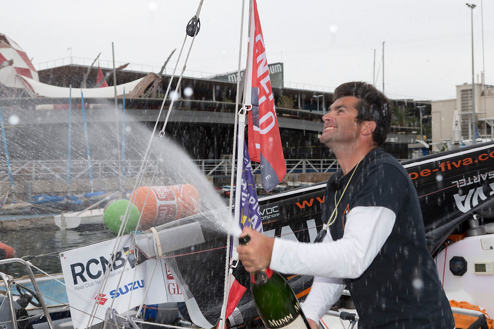 Alexis Loison grand vainqueur de la Generali Solo 2015