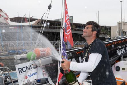 Generali Solo : Alexis Loison (Groupe Fiva) victorieux à Barcelone !