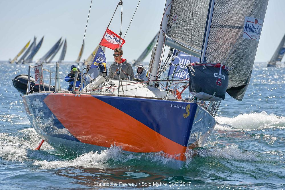 Pierre Quiroga - Skipper Espoir Centre d'Entraînement Méditérranée