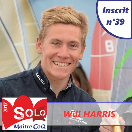 Will Harris will be back in Les Sables d'Olonne