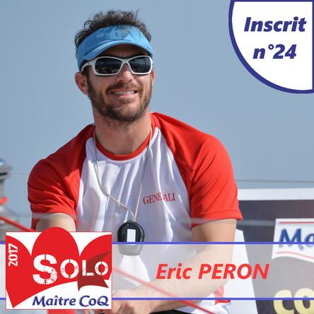 Eric Péron pour une 5ème participation