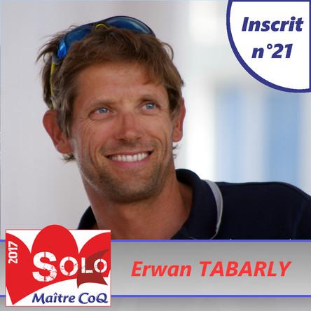 Erwan Tabarly de retour sur la Solo Maître CoQ