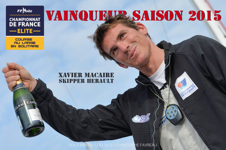 """CFECLS : Xavier Macaire, """"Hérault"""" de la saison 2015, sacré Champion de France !"""