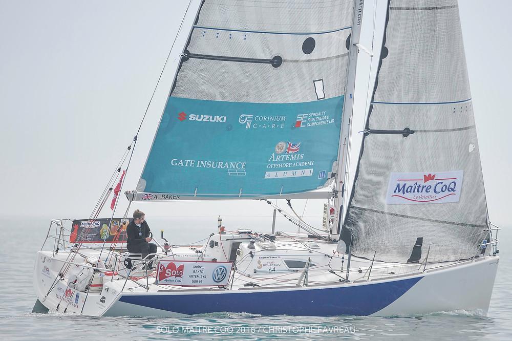 Andrew Baker (Artemis 64) prendra pour la seconde fois le départ de la grande course