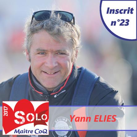 Yann Eliès pour une seconde victoire ?