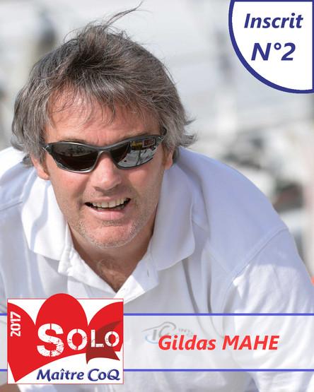 Gildas Mahé, le premier ancien vainqueur engagé sur l'édition 2017