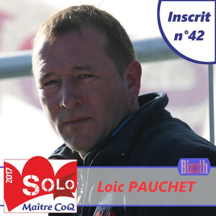 Loic Pauchet, 42ème inscrit et 7ème bizuth