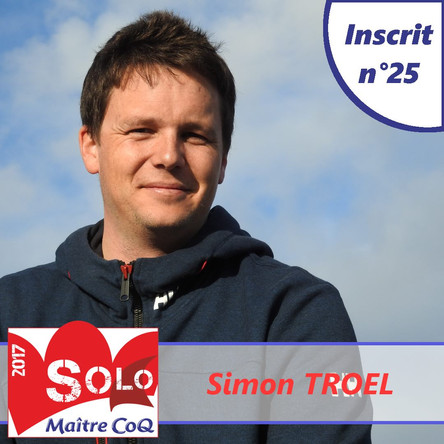 1ère paticipation pour Simon Troël !