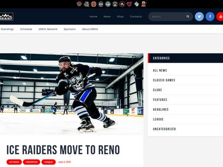 Ice Raiders Move to Reno