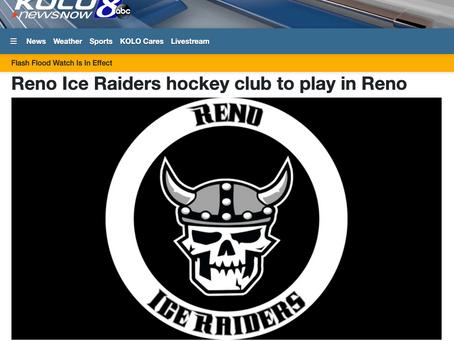 Reno Ice Raiders hockey club to play in Reno