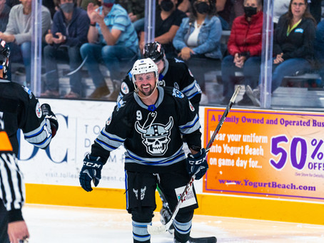 Ice Raiders Roll Over Stampede 9-2