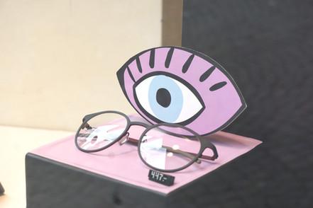 Vitrine Opticiens Schmutz