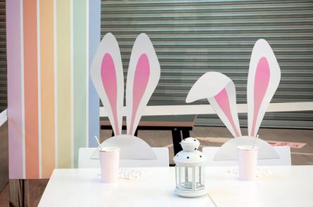 Décoration de Pâques - Mall Café