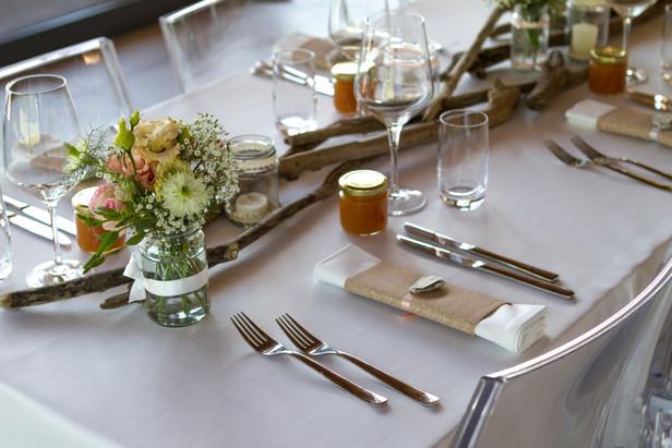 Décoration de table - mariage