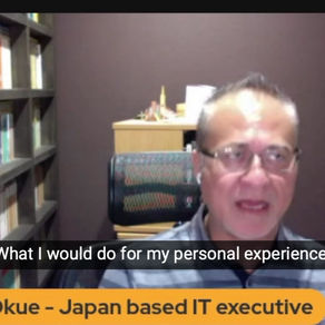 Highlight#1 from TCP Live#7 - Asking for what you want by Yasushi Okue