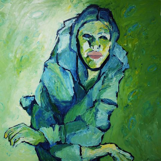 Без названия, 20190414  холст, масло oil on canvas 150 x 180