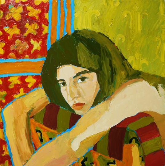 БЕЗ НАЗВАНИЯ, 20200909-10 холст, масло oil on canvas 90 x 70