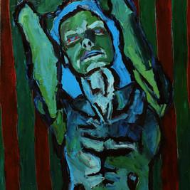 БЕЗ НАЗВАНИЯ, 20200629 холст, масло oil on canvas 90 x 70