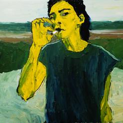МОЛОКО, 20180613 холст, масло oil on canvas 70 x 80