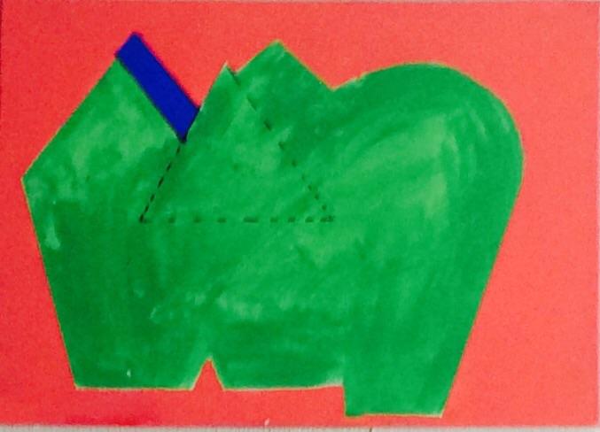 Зеленый слон / A green elephant