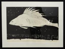 Татьяна Толстая «Рыба», 1985 Бумага, туш