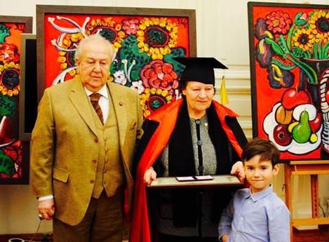Белле Левиковой присуждено почетное звание Академика в Российской Академии Художеств