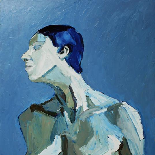 БЕЗ НАЗВАНИЯ, 20200320-21 холст, масло oil on canvas 90 x 70