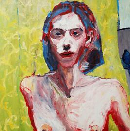 Без названия, 20190322-23  холст, масло oil on canvas 105 x 150