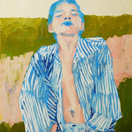 БЕЗ НАЗВАНИЯ, 20200729 холст, масло oil on canvas 90 x 70