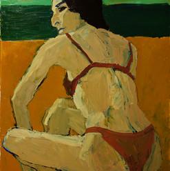 БЕЗ НАЗВАНИЯ, 20200616-17 холст, масло oil on canvas 90 x 70